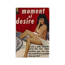 Moment of Desire Rectangle Magnet