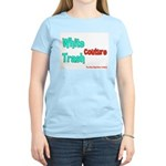 White Trash Couture (Brand) Women's Pink T-Shirt