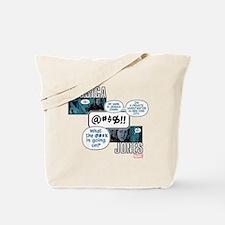 Jessica Jones Cursing Tote Bag