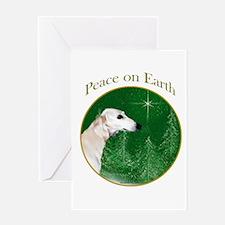 Saluki Peace Greeting Card