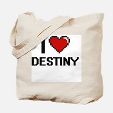 I love Destiny Tote Bag