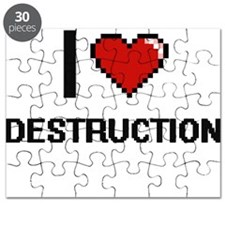 I love Destruction Puzzle