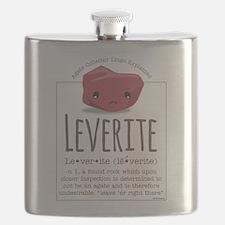 Leverite Agate Flask
