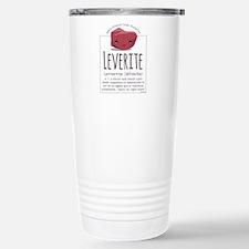 Leverite Agate Travel Mug