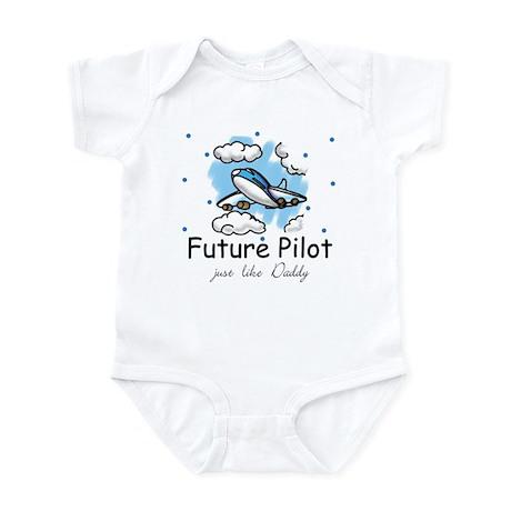 Future pilot like Daddy Infant Bodysuit