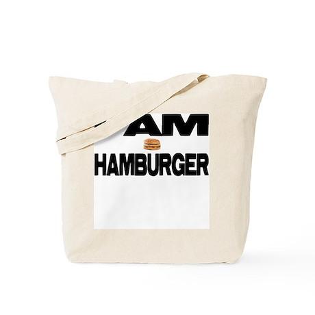 I AM HAMBURGER Tote Bag