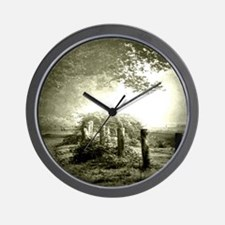 farm western country road Wall Clock