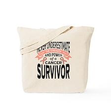 Endometrial Cancer Strength Tote Bag