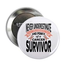 "Endometrial Cancer Strength 2.25"" Button"
