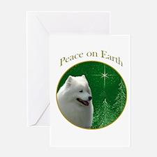 Samoyed Peace Greeting Card