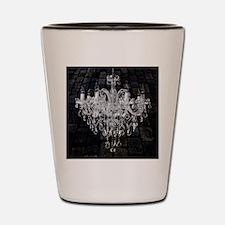rustic grunge vintage chandelier Shot Glass