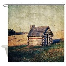 rustic vintage country  Shower Curtain