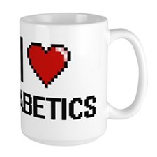 I love Diabetics Mugs