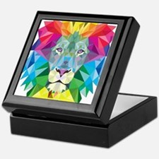 Rainbow Lion Keepsake Box