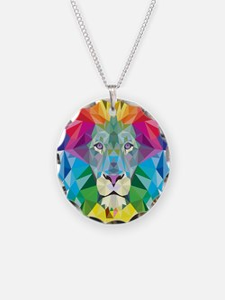 Rainbow Lion Necklace