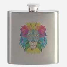 Rainbow Lion Flask