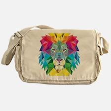 Rainbow Lion Messenger Bag