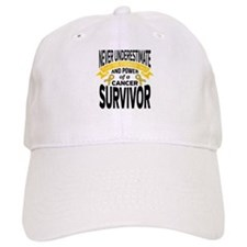 Childhood Cancer Strength Baseball Cap