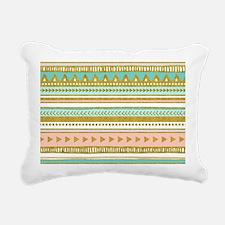 Cute Pink triangle Rectangular Canvas Pillow