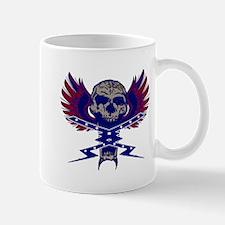Lighting bolt skull Mug
