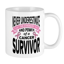 Breast Cancer Strength Small Mug
