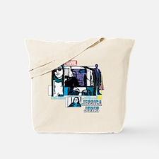 Jessica Jones & Purple Man Tote Bag