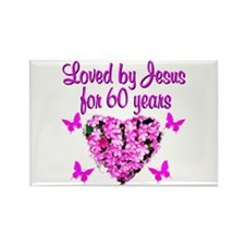 60TH BLESSING Rectangle Magnet