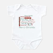 Politically correct Holiday Infant Bodysuit