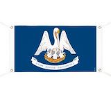 Louisiana vintage Banners