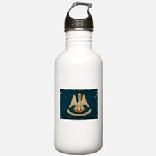 Louisiana State Flag VINTAGE Water Bottle