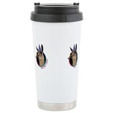 Cute Party like a llama Travel Mug