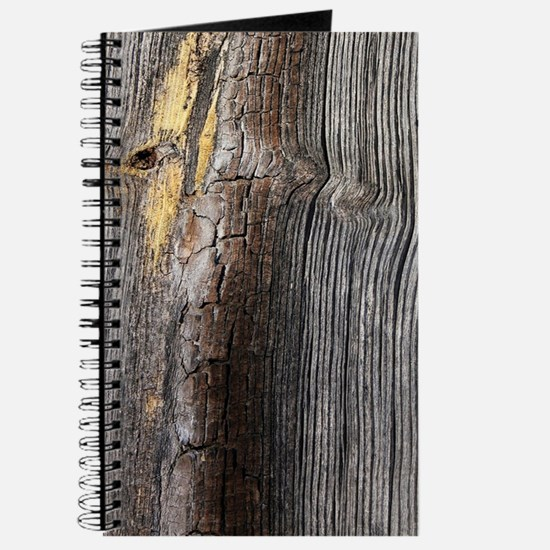 rustic primitive grey barn wood Journal