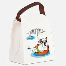 Beach Bully Canvas Lunch Bag