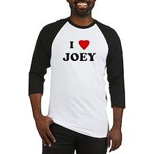 I Love JOEY Baseball Jersey
