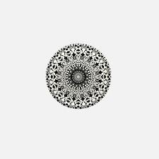 Tribal Mandala Mini Button