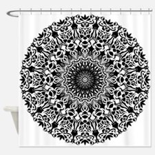 Tribal Mandala Shower Curtain