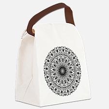 Tribal Mandala Canvas Lunch Bag