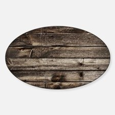 rustic primitive grey barn Decal