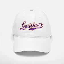 Louisiana Royal Purple and Gold-01 Baseball Baseball Baseball Cap