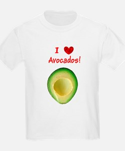 I Love Heart Avocados Guillermo's Fave T-Shirt