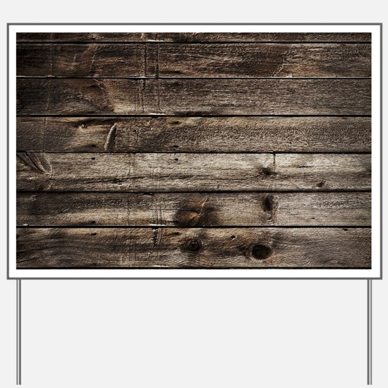rustic primitive grey barn wood Yard Sign