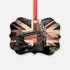 Union Jack London Ornament