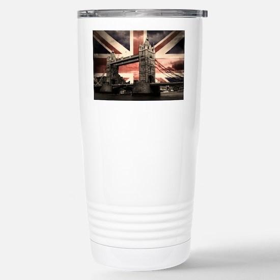 Union Jack London Stainless Steel Travel Mug