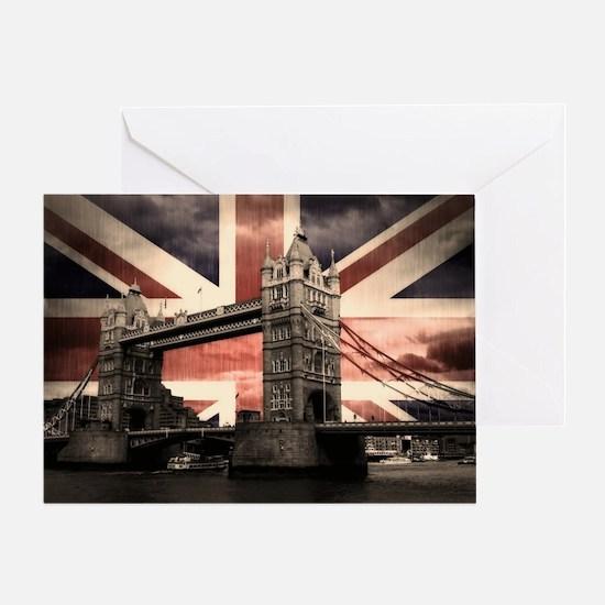 Union Jack London Greeting Card