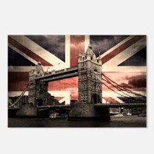 Union Jack London Postcards (Package of 8)