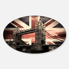 Union Jack London Decal