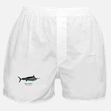 Blue Marlin Boxer Shorts