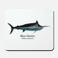 Blue Marlin Mousepad
