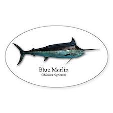 Blue Marlin Decal