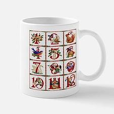 12 Days Of Christmas Mugs